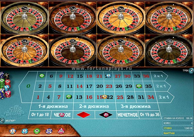 рулетка в казино play fortuna